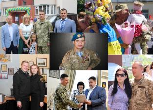 Щиро вітаємо всіх Захисників України зі святом!